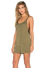 Bishop + Young Gracie Romper in Olive