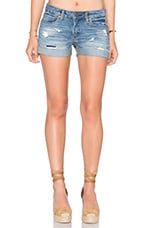 SHORT DISTRESSED