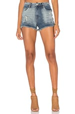Distressed Cut Off Short in Rough Patch