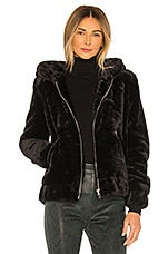 BLANKNYC Faux Fur Bomber in Uptown Girl