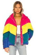 BLANKNYC Reversible Puffer Jacket in Temptations