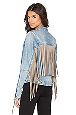 BLANKNYC Fringe Jacket in Fringed Out