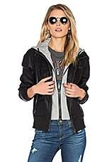 BLANKNYC Hooded Jacket in Adulting