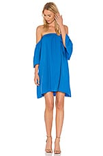 BLAQUE LABEL Baby Doll Dress in Capri Blue