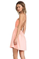 Dress in Peach