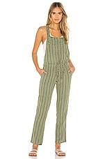 Bella Dahl Overall in Woodland Olive