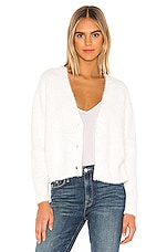Bella Dahl Sweater Cardigan in Winter White