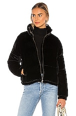 Bella Dahl Puffer Jacket in Black