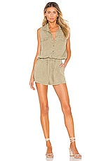 Bella Dahl Utility Romper in Surplus