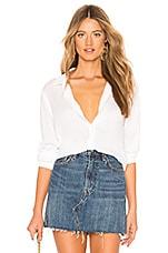 Bella Dahl Long Sleeve Button Down in White