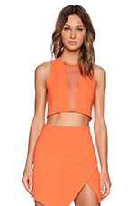 x REVOLVE Genesis Crop Top in Orange