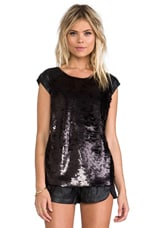 Creature Of The Night Top in Black