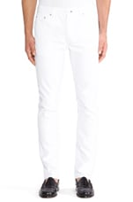 Jeans 5 in Astr White