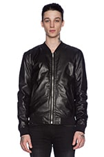 Leather Jacket 81 in Black