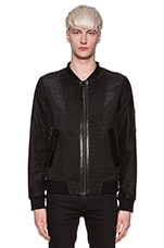 Leather Jacket 64 in Black