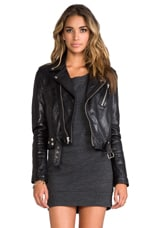 Leather Jacket 1 in Black
