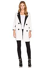 BLQ BASIQ Oversize Coat in White