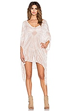 V Neck Cape Cool Caftan en Beach Tie & Dye