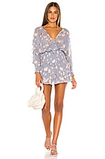 Blue Life x REVOLVE Virgo Dress in Periwinkle Floral