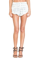 Beach Bunny Short in Light Blue & White Ripple