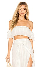 Blue Life Lola Off the Shoulder Top in Ivory
