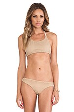 Sahara Halter Top in Sandstorm