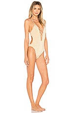 Blue Life Seaside One Piece in Gold