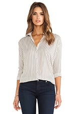Oversized Blouse in Santiago Stripe