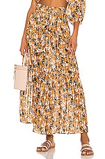 BOAMAR Bertha Skirt in Crane Yellow