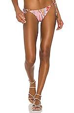 BOAMAR Coastal Breeze Reversible Susy Bikini Bottom in Primrose Print