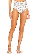 BOAMAR Pleasure Villa Fera Bikini Bottom in Blur Ivory Print