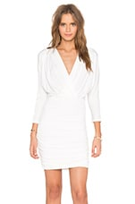 ROBE COURTE LONG SLEEVE