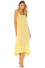 Bobi Gauze Midi Dress in Daffodil