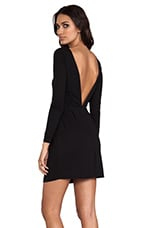 BLACK LABEL Lone Sleeve Mini Dress in Black