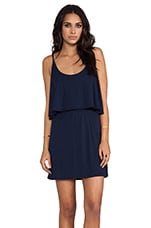 Jersey Mini Dress in Marina