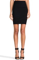 Ponte Skirt in Black