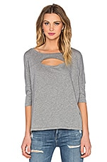 T-SHIRT CUT OUT DOLMAN