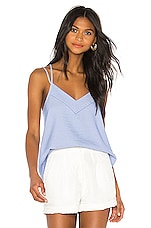 Bobi BLACK Sailing Stripe Cami in Blue
