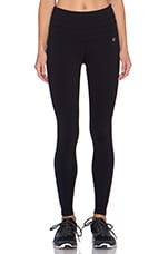 Cinch Legging in Black & Honeycomb
