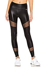 Body Language Kiki Legging in Black & Shimmer