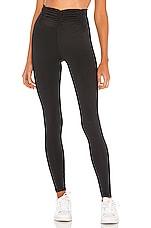 Body Language High Scrunchy Legging in Black