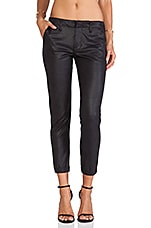 Slouchy Trouser in After Dark