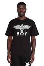 Eagel Boy Tee in Black