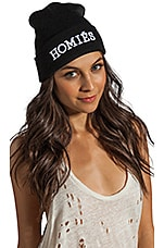 Homies Unisex Beanie in Black/White