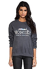 Homies Sweatshirt in Charcoal/Hologram