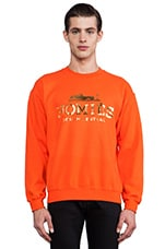 Sweat Homies en Orange/Or Brillant