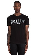 Ballin Tee in Black & White