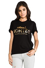 Homies Tee in Black/Gold