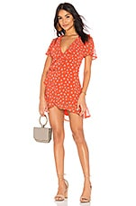 BEACH RIOT Summer Dress in Orange