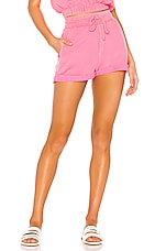 BEACH RIOT Skylar Short in Neon Pink